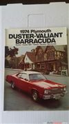 CATALOGO ORIGINAL DE VENTA DE DART DUSTER VALIANT BARRACUDA 1974