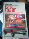 manual de mantenimiento y servicio de Ford pick-up 1965-1986
