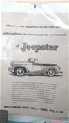 1949 Jeep Jepster Willys-Overland Convertible