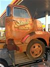 "BUSCO CAMION ""COE"" cabin over engine  DE LOS 40's o 50's chevy o ford"