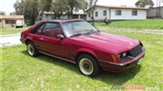 1981 Ford mustang   t-top Hatchback