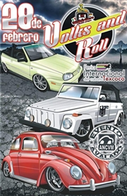 Volks and Roll Texcoco 2016