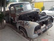 Ford pick up X PARTES Pickup 1953
