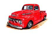 partes ford pick up 1952