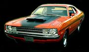 Plymouth VALIANT SUPER BEE Hardtop 1972