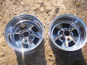 PAIR OF 14 X 8 RIMS Cragar FOR MAVERICK MUSTANG CAMARO CHARGER ETC