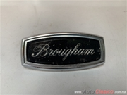 FORD MERCURY , LTD , GALAXIE   BROUGHAM 1969 A 1971 EMBLEMA ORIGINAL
