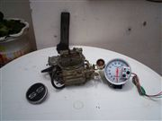 carburador holley 650, tacometro auto meter,