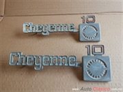 emblemas laterales cheyenne 10 del 73-80