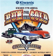 17th Aannual Run For The Gold Car Show