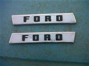 LETRAS FORD COFRE PICKUP 48 50
