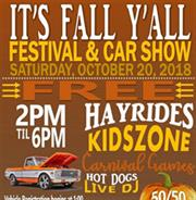 It's Fall Y'all Festival & Car Show
