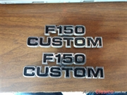 emblemas laterales ford f150 custom del 73-79
