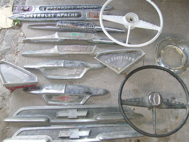 Piezas Para Chevrolet Apache 19551956195719581959 Pick Up 13656