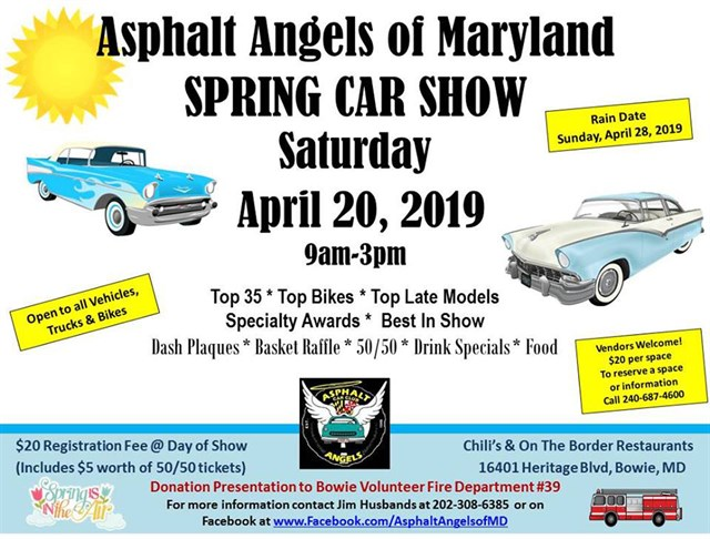 Asphalt Angels of MD Spring Car, Truck & Bike Show 2019