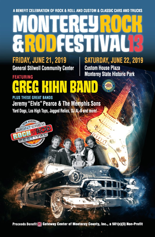 13th Annual Monterey Rock & Rod Festival