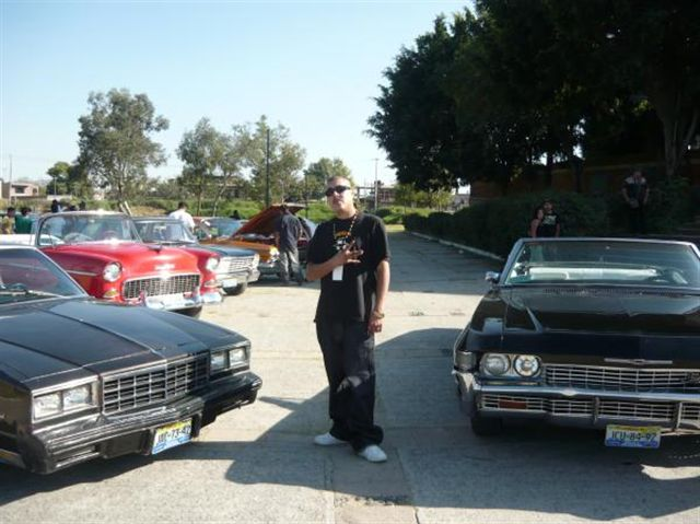 | monte y my chevy car show