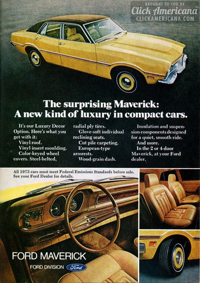 Ford Maverick | 1973 Ford Maverick
