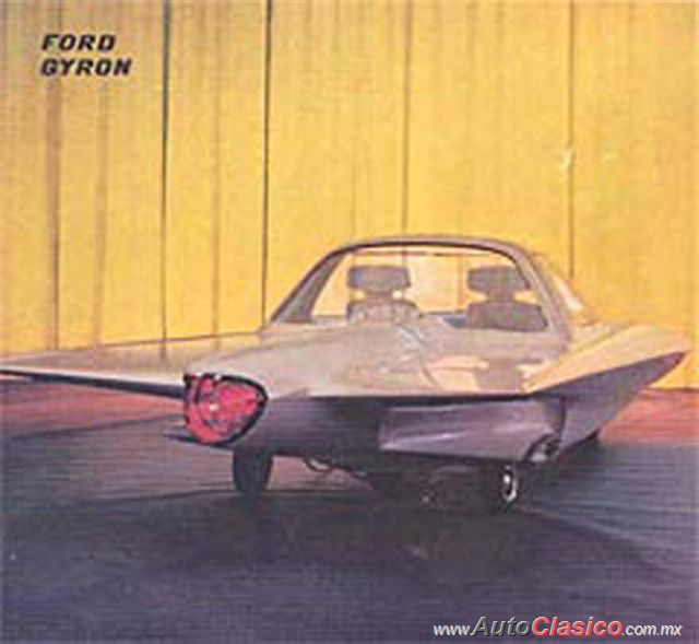 1961 Ford Gyron Concept Car |