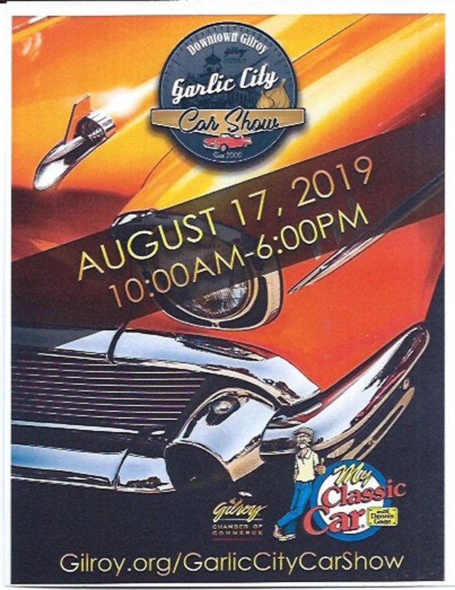 2019  Garlic City Car Show