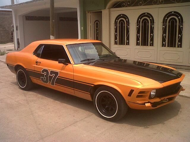 Ford mustang 70 Hardtop 1970 #15131 | AutoClasico
