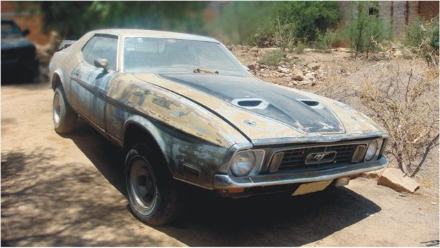 Ford Mustang Mach One Hardtop 1971 2613 Autoclasico