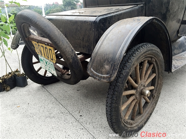 1917 Ford T Coupe Rumble Seat |