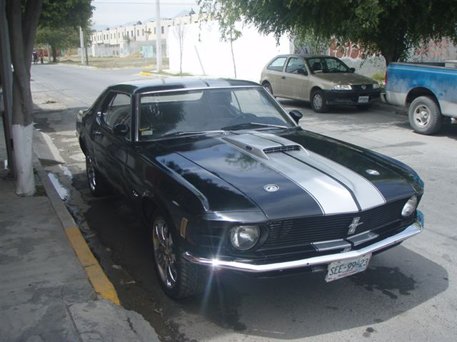 Ford Mustang Hardtop 1970 #4747 | AutoClasico - English