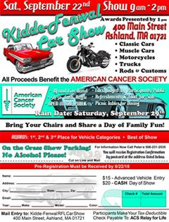 6th Annual Kidde-Fenwal Car Show