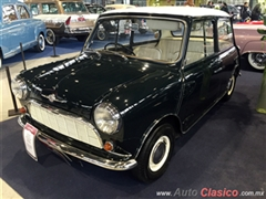 Salón Retromobile FMAAC México 2015 - Austin Mini Minor Saloon MKI 1959