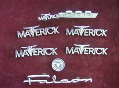 EMBLEMAS FORD MAVERICK !!!