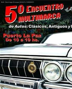 5th Multimarca Meeting of Classic, Antique Cars and Hot Rod