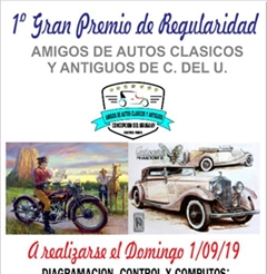 More information about 1st Grand Prix of Regularity Friends of Classic and Antique Cars of C. del U.