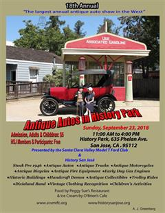18th annual Antique Autos in History Park
