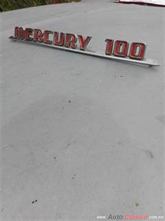 EMBLEMA DE COFRE MERCURY PICK UP MOD.1957-1960