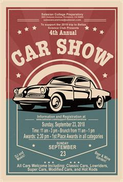4th Annual Salesian Car Show