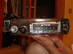 Radio Antiguo Para Restauracion, Camioneta Ford