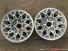 TRANS AM, 2 RINES , RIN 15X7