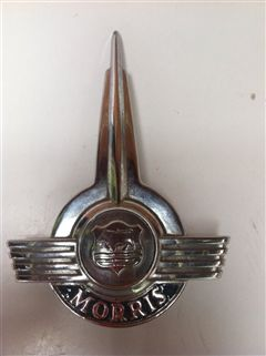 morris minor emblema original de cofre