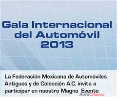 Gala Internacional del Automovil 2013