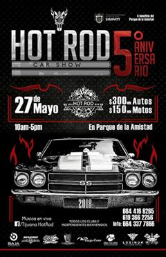 5o Aniversario Hot Rod Car Show Tijuana 2018