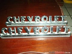 Se venden emblemas laterales del cofre de Chevrolet pick up 1948-1952 recromados