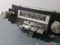 Radio AM,FM y 8 Tracks  de Chevrolet,68-84,