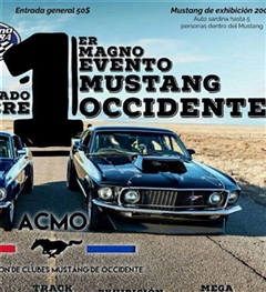 1er Magno Evento Mustang Occidente