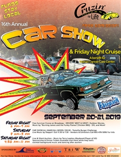 Más información de 16th Annual Cruzin' For Life Car Show