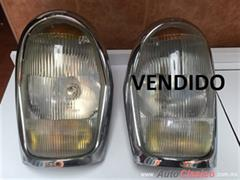 MERCEDES BENZ 220 1964 FAROS COMPLETOS ORIGINALES