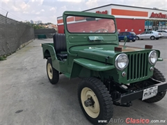 1952 Willys JEEP Roadster