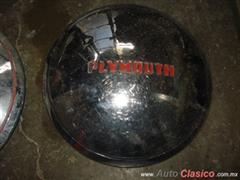 PLYMOUTH 49-50 TAPONES RUEDA