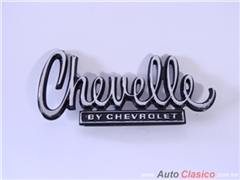 Emblema Chevelle By Chevrolet