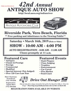 42nd Annual Antique Automobile Show